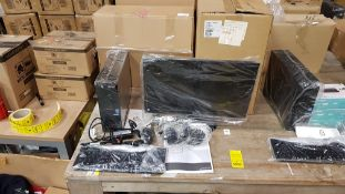 COMPUTER LOT CONTAINING ACER ASPIRE XC-704 SYSTEM UNIT, 8OC MONITOR, USER MANUAL, KEYBOARD, MOUSE,