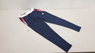 10 X BRAND NEW SIK SILK NAVY FUNCTION TRACK PANTS IN VARIOUS SIZES