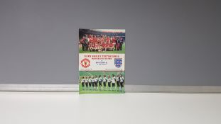 1 X ORIGINAL (GARY BAILEY) TESTIMONIAL PROGRAMME - MANCHESTER UNITED VS ENGLAND X1 - SUNDAY 10TH MAY