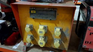 240V TRANSFORMER WITH 6 PLUGS