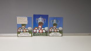 *3 X OFFICIAL MANCHESTER UNITED WATNEY CUP PROGRAMMES TO INCLUDE - (FIRST ROUND MANCHESTER UNITED VS