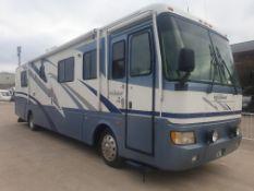 BLUE/WHITE MONACO DIPLOMAT MOTORHOME (DIESEL) Reg No: X132 CNO MILES: 57991 ENGINE SIZE: 35000CC
