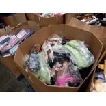 FULL PALLET BOX OF BRAND NEW CLOTHING IE. AMBER SKIRTS, PEACOCKS TOPS, BOUX AVENUE JUMPERS,
