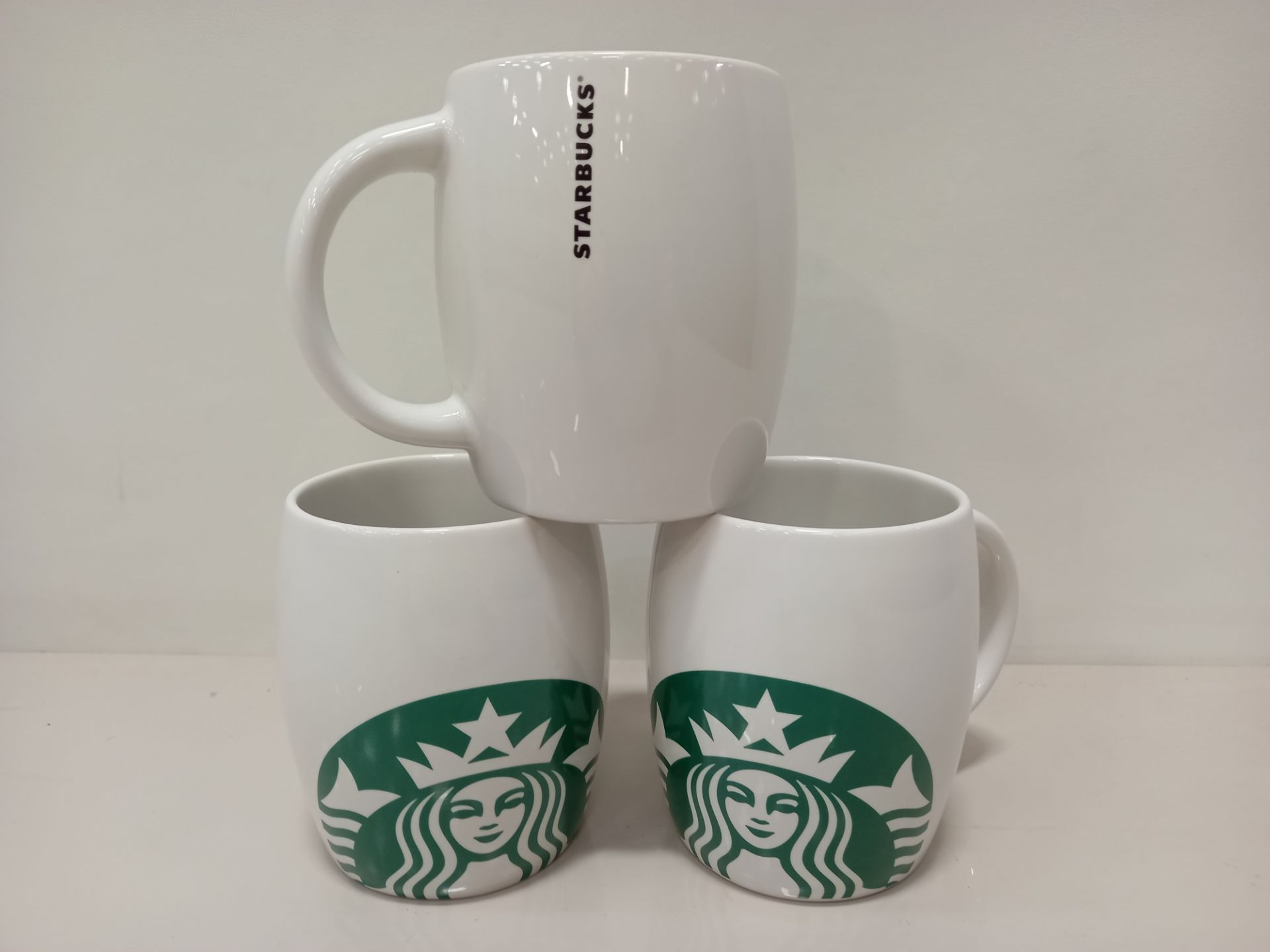 64 X BRAND NEW STARBUCKS COFFEE MUGS (MICROWAVE & DISHWASHER SAFE) - IN 4 BOXES