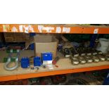 CONTAINED ON 3/4 OF A BAY - VARIOUS CONTAINER EYES AND 1 X BOX OF (DRIVER VEHICLE DAILY CHECK AND
