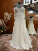 1 X (WTOO) WEDDING DRESS STYLE - 13718 COLOUR - IVORY RRP - 1,025