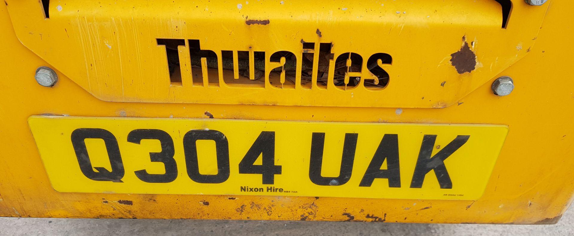 THWAITES ALL DRIVE 1 TONNE HI-TIP DUMPER ENGINE SIZE - 1115CC COLOUR - YELLOW FUEL - DIESEL - Image 7 of 8