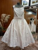 1 X (LOULOUBRIDALWEAR) WEDDING DRESS DRESS - NORA SIZE - UK16 RRP - £915