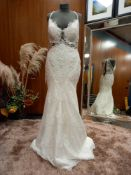 1 X (ANNY LIN) WEDDING DRESS STYLE - PRIMROSE #17202 COLOUR - IVORY SIZE - UK12 RRP - £1,590