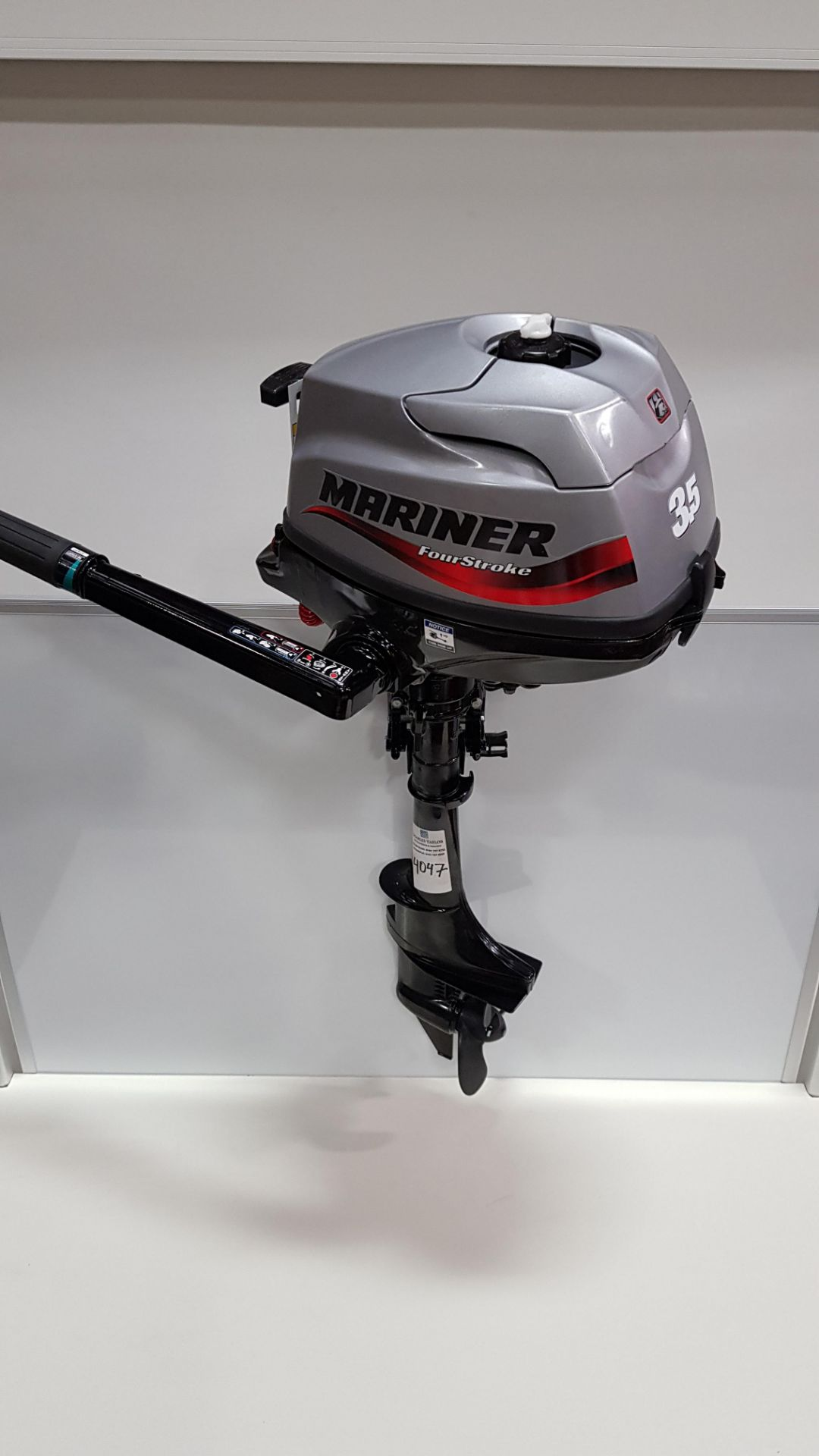1 X (BRAND NEW) 3.5HP (MARINER) FOUR STROKE OUTBOARD MOTOR