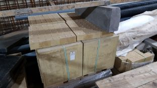 1 X PALLET OF YELLOE (GUIDE) PAVING SLABS - USED FOR PUBLIC AREAS