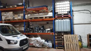 CONTAINED OVER 3 BAYS - MISC LOT OF BUILDING PRODUCTS TO INCLUDE - LARGE SELECTION OF DPC, 1 X