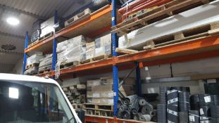 CONTAINED OVER 4 BAYS A LARGE QUANTITY OF BUILDING MATERIALS TO INCLUDE - 3 X PALLETS OF BRAND