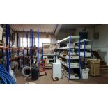 LARGE QUANTITY OF MIXED BUILDING PRODUCTS CONTAINED OVER 14 BAYS TO INCLUDE - BRAND NEW (PRO-ELEC