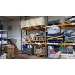"""MIXED LOT OF BUILDING PRODUCTS TO INCLUDE - 7 X BOARDS OF 4"""" INSULATION, 2 X PALLETS OF VARIOUS"""