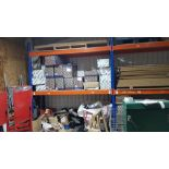 LARGE QUANTITY OF BUILDING PRODUCTS TO INCLUDE - APPROX 30 X BRAND NEW TELESCOPIC UNDERFLOOR VENTS