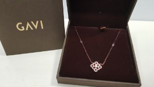 24 X BRAND NEW INDIVIDUALLY BOXED GAVI NECKLACE WITH PENDANT