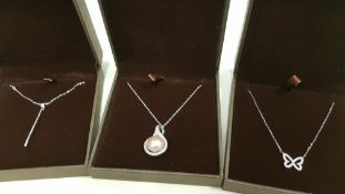 23 X ASSORTED BRAND NEW BOXED GAVI LOT CONTAINING SILVER COLOURED BUTTERFLY NECKLACE, SILVER