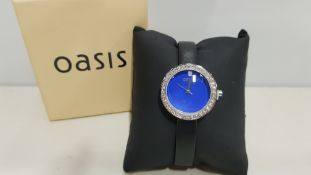 5 X NEW BOXED OASIS WOMENS WATCHES (NOTE BATTERIES EXPIRED)