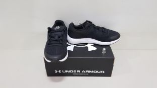6 X BRAND NEW UNDER ARMOUR W MICRO G PURSUIT BP TRAINERS UK SIZE 5.5