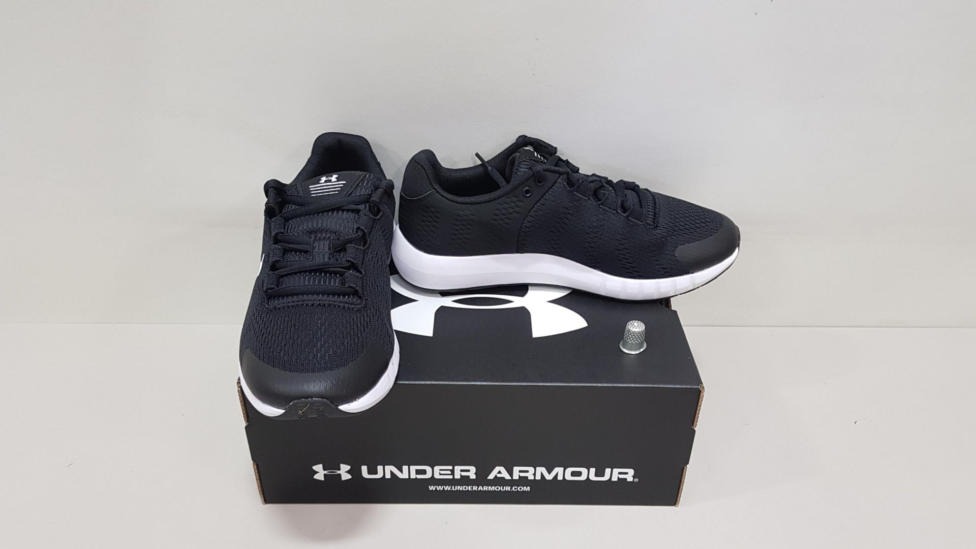 6 X BRAND NEW UNDER ARMOUR W MICRO G PURSUIT BP TRAINERS UK SIZE 8