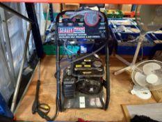 SEALEY 220 BAR PRESSURE WASHER MODEL - PWM2500SP 10LITRE/MIN SELF PRIMING 6.5HP PETROL