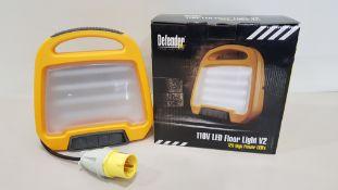 17 X BRAND NEW DEFENDER 100V - LED FLOOR LIGHTS V2 (E709162) - IN COLOUR BOXES
