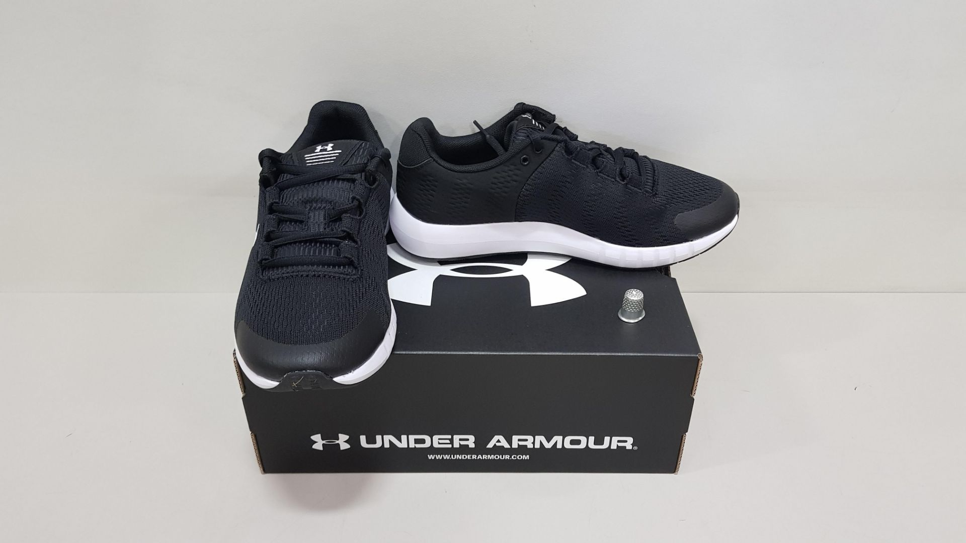 6 X BRAND NEW UNDER ARMOUR W MICRO G PURSUIT BP TRAINERS UK SIZE 7