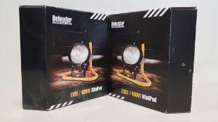 11 X BRAND NEW DEFENDER MINI PODS IE. 7 X 230V (E709009) + 4 X 110V (E709007) - IN COLOUR BOXES