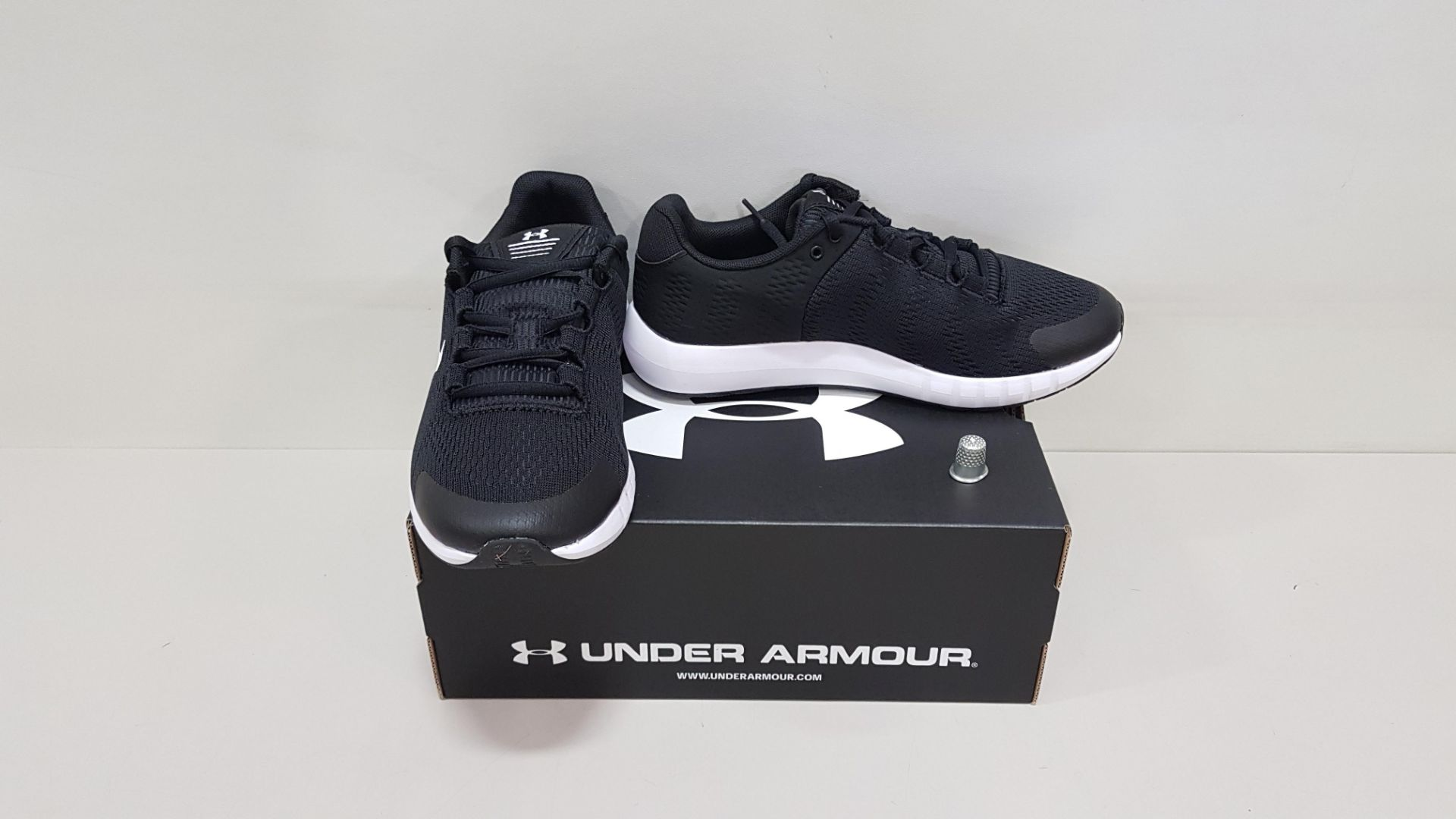 6 X BRAND NEW UNDER ARMOUR W MICRO G PURSUIT BP TRAINERS UK SIZE 5