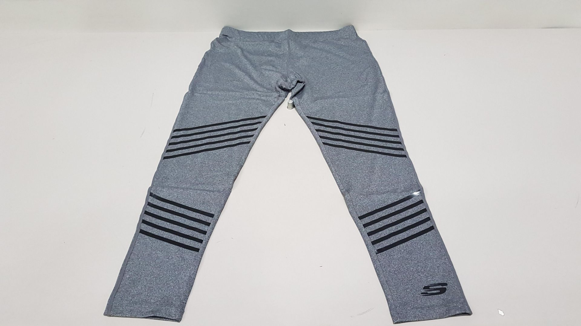 16 X BRAND NEW SKETCHERS AURA GREY MARL LEGGINGS SIZE 16 XL