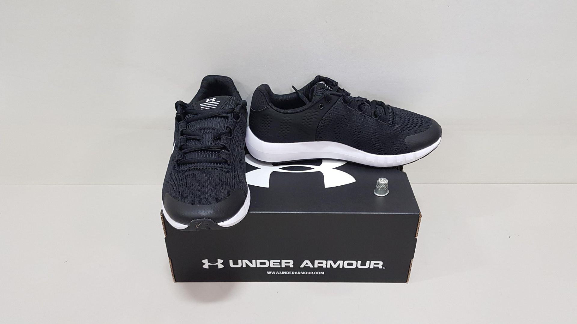 6 X BRAND NEW UNDER ARMOUR W MICRO G PURSUIT BP TRAINERS UK SIZE 6.5