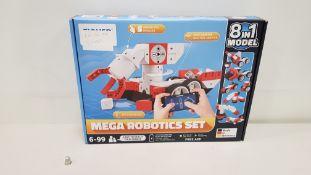 1 X BRAND NEW MEGA ROBOTICS SET 8 IN 1 MODEL