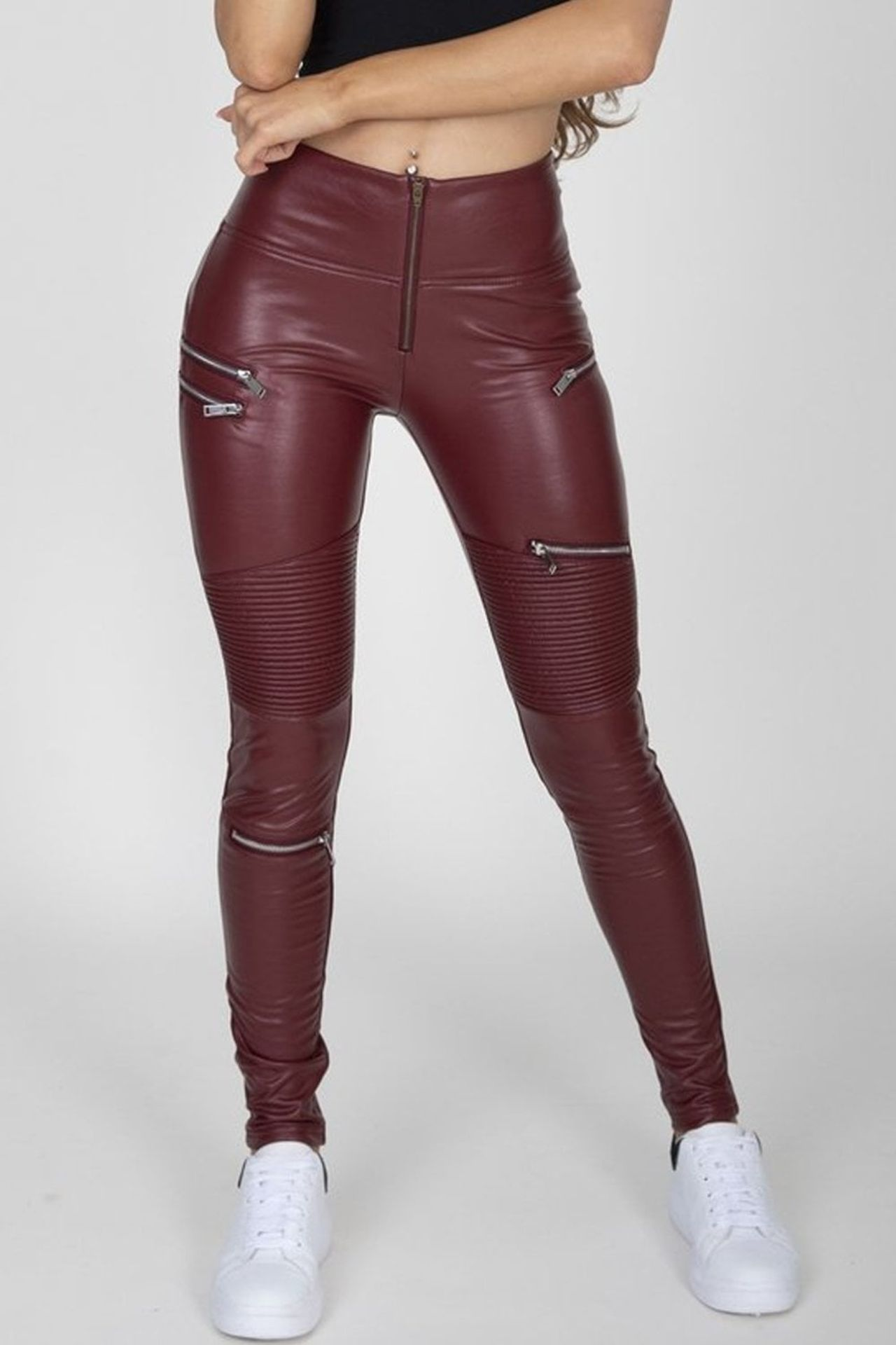 12 X BRAND NEW HUGZ JEANS DESIGNER BRANDED - ALL SIZE 6 - XS - IE. JEANS / FAUX LEATHERS / - Image 3 of 4