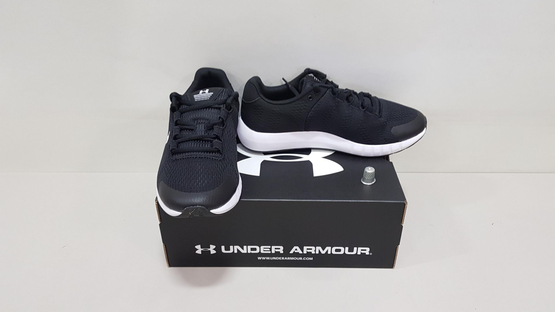 6 X BRAND NEW UNDER ARMOUR W MICRO G PURSUIT BP TRAINERS UK SIZE 6