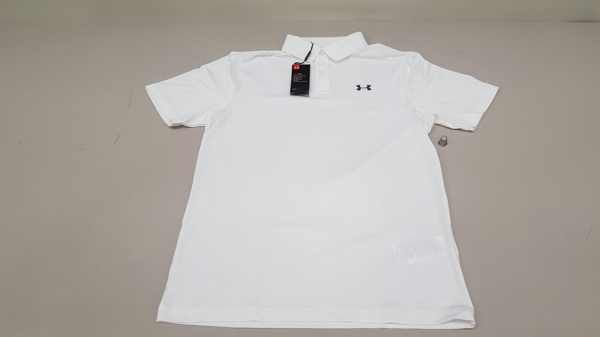 15 X BRAND NEW UNDER ARMOUR WHITE SHIRT SIZE SM