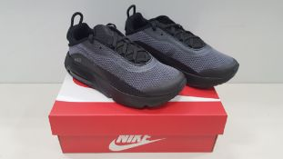 6 X BRAND NEW NIKE AIR MAX 2090 PPJFP JUNIOR TRAINERS SIZE 2