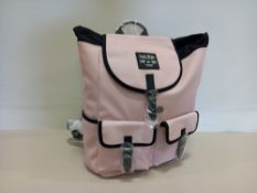 7 X BRAND NEW JACK WILLS BERESFORD CARGO BACKPACKS IN PINK WITH SWING TICKETS RRP £59.95 EACH