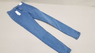 15 X BRAND NEW TOPSHOP JONI SUPER HIGH WAISTED SKINNY JEANS UK SIZE 10 RRP £36.00 (TOTAL RRP £540.