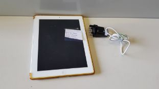 APPLE IPAD TABLET WIFI + CELLULAR 64GB STORAGE - WITH CASE + CHARGER