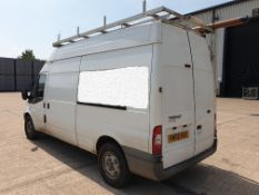 WHITE FORD TRANSIT 115 T350L RWD. ( DIESEL ) Reg : KW08 RSU Mileage : 135828 Details: WITH 1 KEY, NO
