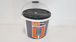 24 X BRAND NEW ULTIPRO 5.25KG POWDERED MORTAR PLASTICISER (250 X 21G SACHETS) - ON ONE PALLET