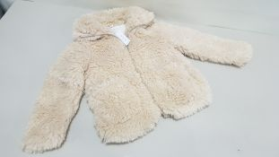 3 X BRAND NEW TOPSHOP PETITE FAUX FUR STYLED JACKET SIZE SMALL RRP £69.00 (TOTAL RRP £207.00)