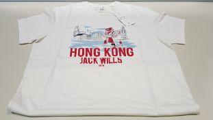 29 X BRAND NEW JACK WILLS HONG KONG LOCATION T SHIRTS SIZE XS