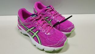 12 X BRAND NEW WOMENS ASICS GT 1000 GEL RUNNING SHOES US SIZE 4