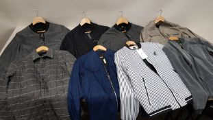 8 X BRAND NEW CLEAN CUT COPENHAGEN JACKETS / BLAZERS IN VARIOUS STYLES AND SIZES
