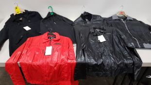 6 X BRAND NEW PSYCHO COWBOY JACKETS / COATS IN VARIOUS STYLES, SIZES AND COLOURS
