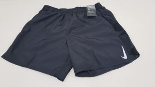 10 X BRAND NEW NIKE DRY FIT TECHNOLOGY BLACK SHORTS SIZE LARGE