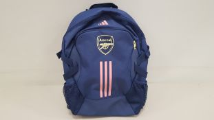 7 X BRAND NEW OFFICIAL LICENSED ARSENAL NAVY ADIDAS BACKPACKS