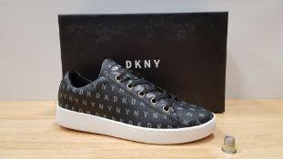 4 X BRAND NEW DKNY BINNA LACE UP SNEAKERS UK SIZE 4.5
